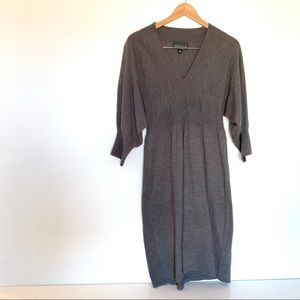 Macy's Gray Sweater Dress Size Large